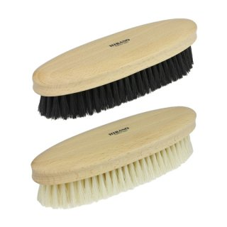 靴ブラシ オーバル型 豚毛
