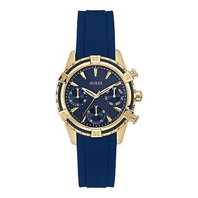368ab64f0c 人気】GUESS ゲス CATALINA カタリナ 腕時計レディース W0562L2 ネイビー ...