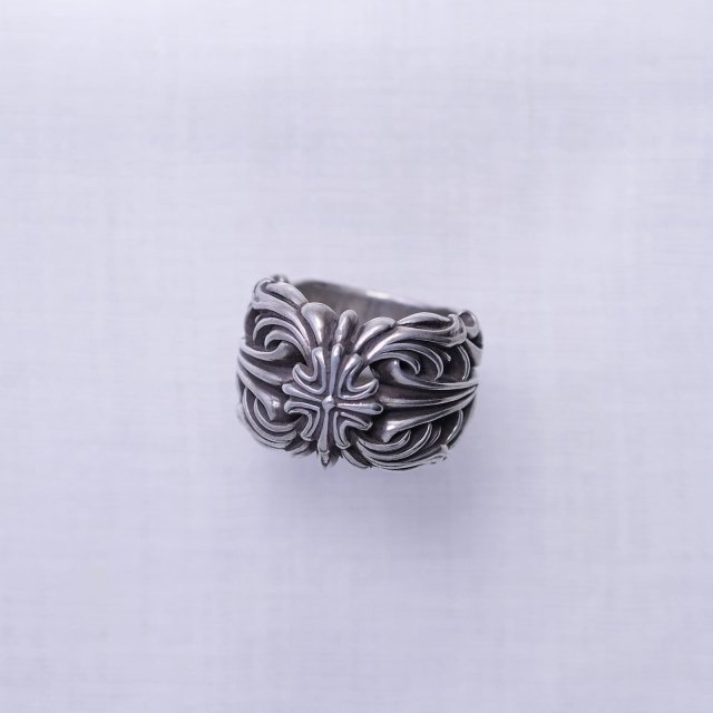 Arabesque Cross Ring