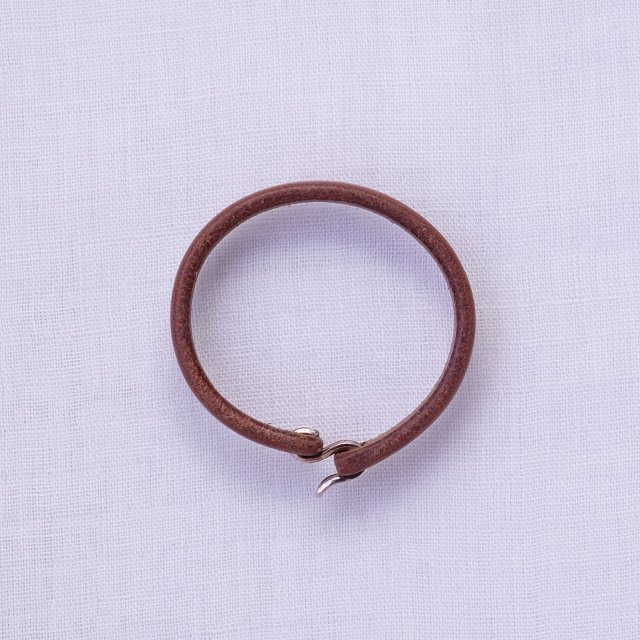 Leather Bracelet 10 ( Natural )