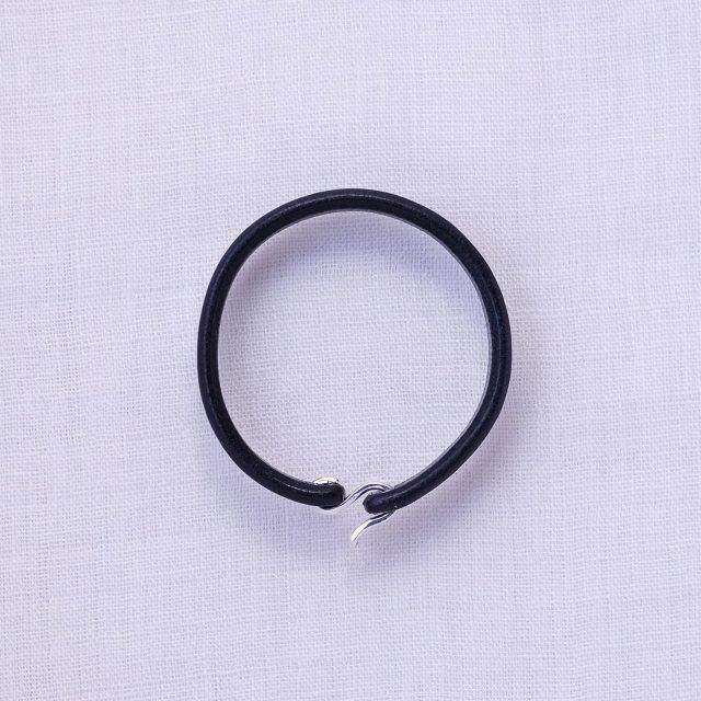 Leather Bracelet 10 ( Black )