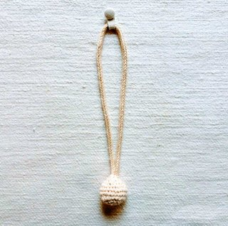 B-a  綿糸のカーテンタッセル
