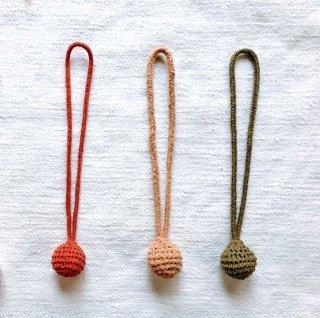 B-ac   綿糸のカーテンタッセル