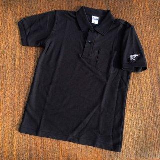 ロゴポロシャツ/ブラック