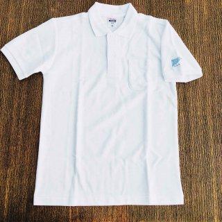ロゴポロシャツ/ホワイト