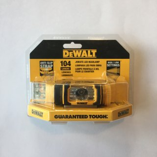 【DEWALT】HEAD LAMP