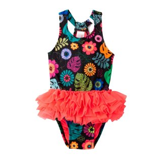 Floral One Piece Swimsuit/18M