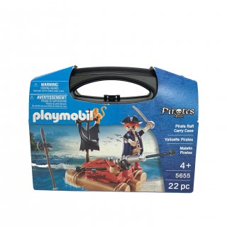 【playmobil】Pirate Raft Carry Case