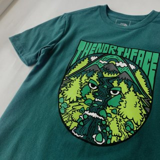 【THE NORTH FACE】× BIGFOOTONE TEE