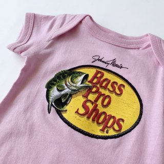 【Bass Pro Shops】Logo Baby Rompers/Pink
