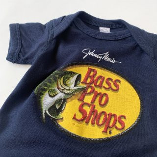 【Bass Pro Shops】Logo Baby Rompers/Navy