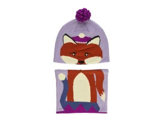 【Columbia】Snow More Beanie and Gaiter/Violet Fox