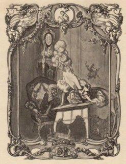 フランツ・フォン・バイロス挿絵作品(ロココレディ・仮面とお猿の伯爵)