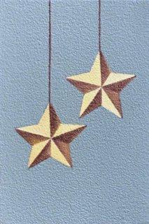 豊田泰弘 油彩画『星のオーナメント』