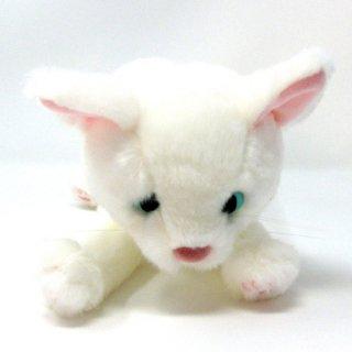 ミスチーフ ツル丸 cuddly(カドリー) 白猫ぬいぐるみ