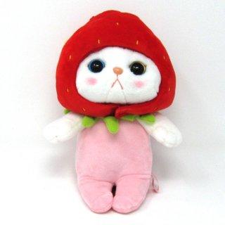 猫のぬいぐるみ chocho(チューチュー)本舗 いちごM
