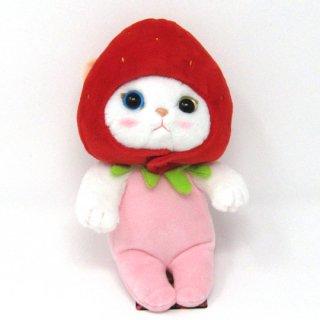 猫のぬいぐるみ chocho(チューチュー)本舗 いちごS