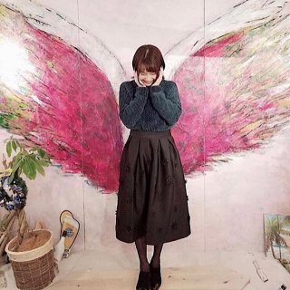 <img class='new_mark_img1' src='//img.shop-pro.jp/img/new/icons14.gif' style='border:none;display:inline;margin:0px;padding:0px;width:auto;' />立体フラワーボンディングミディスカート