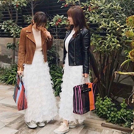 【mamagirl,story掲載】パーフェクトフェザーロングスカート