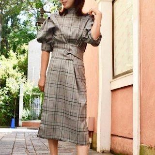 グレナカートチェックドレス