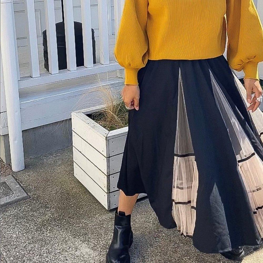 レフアチュチュライクレッドカーペットスカート
