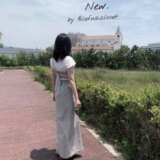 ジェンダーレスバッグベルトサロペットドレス