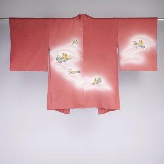 羽織 オシドリ 友禅 裄丈64cm