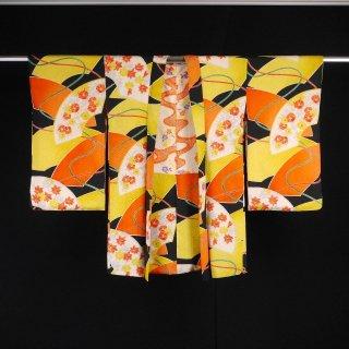 アンティーク羽織 地紙文 裄丈63cm