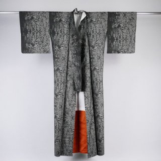 大島紬 カタス式9マルキ 裄丈68�