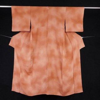 単衣 松葉紋 裄丈65�