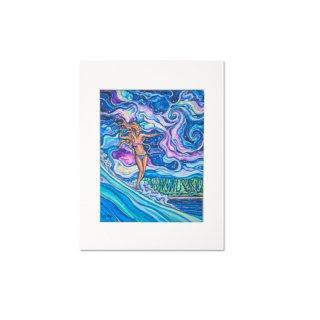 Cosmic Surf(マットプリント)11×14