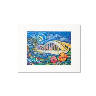 Rainbow Bridge(マットプリント)11×14