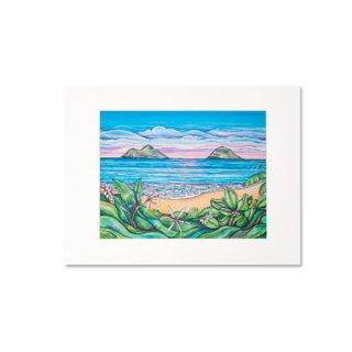 Lanikai Sunrise(マットプリント)11×14