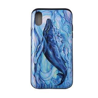 【日本限定モデル】ICカード収納型iPhoneケース(Mystic Blue)iPhoneX対応サイズ