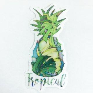 【日本限定モデル】PINEAPPLEステッカー(Island Oasis)