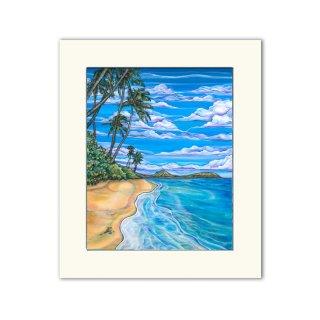 Kahala Beach(マットプリント)11×14