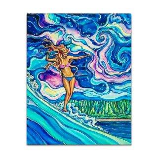 Cosmic Surf(アルミプリント)