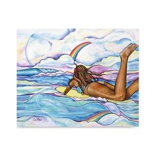 Rainbow's Edge(ジグレー/キャンバス)