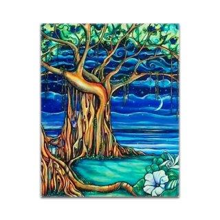 Dreaming Tree(ジグレー/キャンバス)