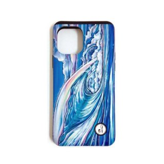 【日本限定モデル】ICカード収納型iPhoneケース(Nalu Blue)iPhone 11 & 11Pro & 11Pro Max対応/1120S48213-001