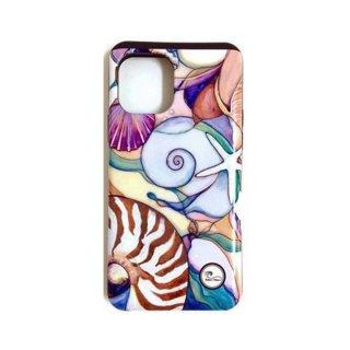 【日本限定モデル】ICカード収納型iPhoneケース(Sea Shells)iPhone 11 & 11Pro & 11Pro Max対応/1120S48213-001