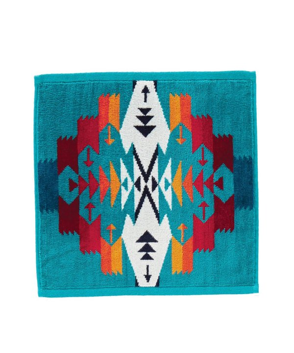 <img class='new_mark_img1' src='//img.shop-pro.jp/img/new/icons1.gif' style='border:none;display:inline;margin:0px;padding:0px;width:auto;' />JACQUARD WASH CLOTH/TUCSON TURQUOISE 【PENDLETON OFFICIAL】