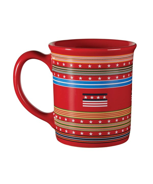 18 OZ CERAMIC/LEGENDARY MUG/GRATEFUL NATION RED 【PENDLETON OFFICIAL】