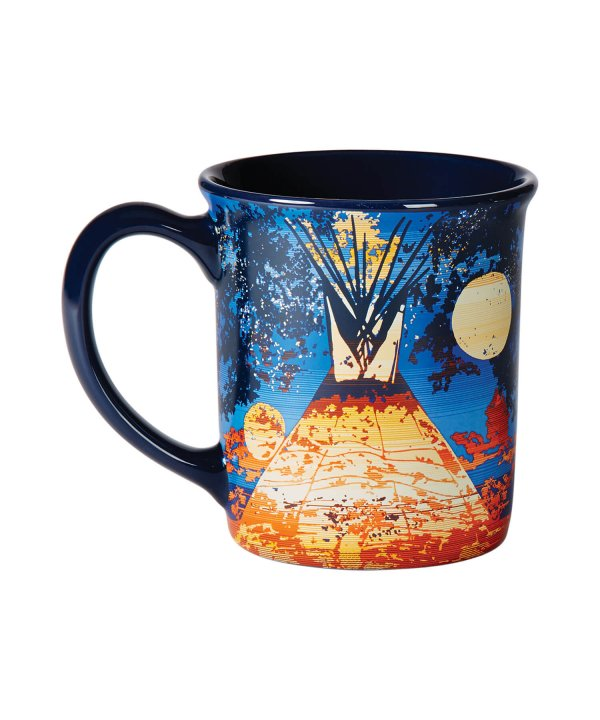 18 OZ CERAMIC/LEGENDARY MUG/FULL MOON LODGE 【PENDLETON OFFICIAL】