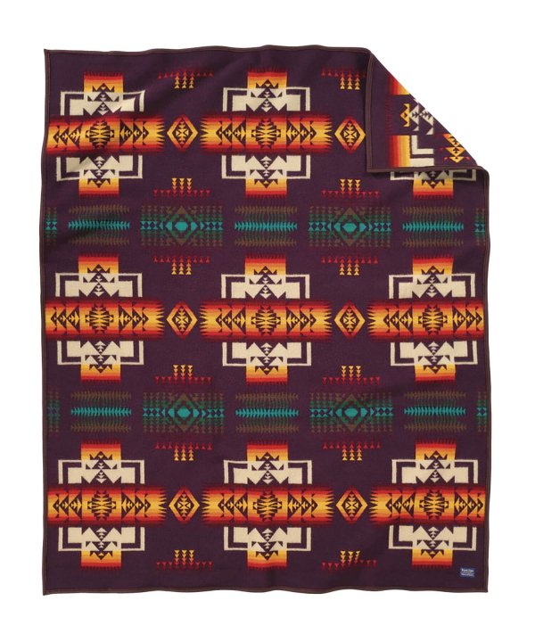 <img class='new_mark_img1' src='//img.shop-pro.jp/img/new/icons1.gif' style='border:none;display:inline;margin:0px;padding:0px;width:auto;' />CHIEF JOSEPH ROBE/MAROON 【PENDLETON OFFICIAL】