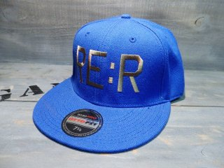 RE:R FUCK THE WORLD CAP・BLUE