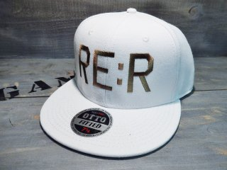 RE:R FUCK THE WORLD CAP・WHITE