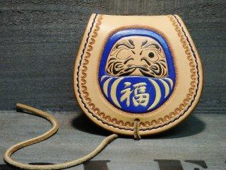 コインケース・小銭入れ/ダルマカービング