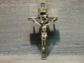 クロス/キリスト/666/BRASS/カスタムパーツ