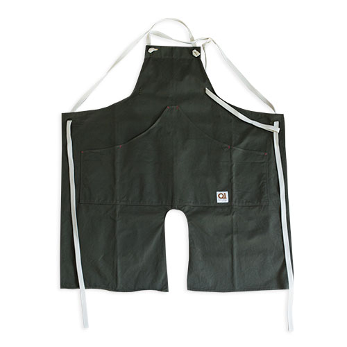 Suolo onG apron(エプロン) カーキ